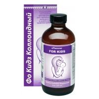 Фо Кидз, для иммунитета, роста и развития детей, коллоидная фитоформула