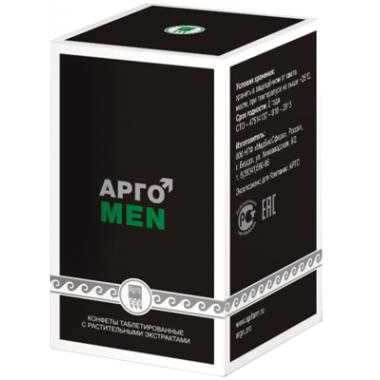 АргоMEN, конфеты таблетированные с растительными экстрактами описание, отзывы