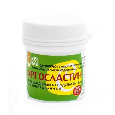 Аргосластин, сахарозаменитель  описание, отзывы