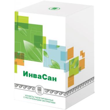 ИнваСан, конфеты таблетированные с растительными экстрактами  описание, отзывы