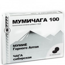 Мумичага 100 - уникальный комплекс горноалтайского мумия и чаги сибирской