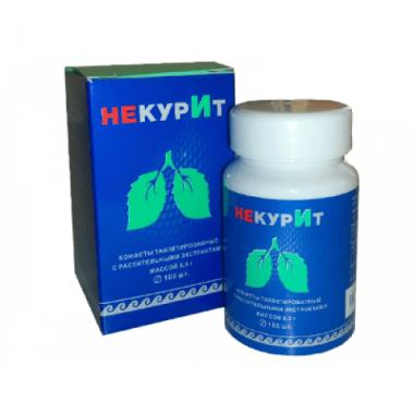 «НекурИт» конфеты таблетированные с растительными экстрактами   описание, отзывы