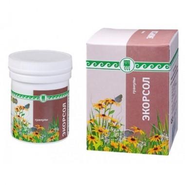 Экорсол, напиток чайный гранулированный  описание, отзывы