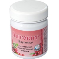 Литовит-напиток Брусника - при воспалительных процессах в мочеполовой системе, артериальной гипертензии