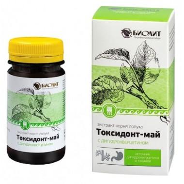 Токсидонт-май с дигидрокверцетином описание, отзывы