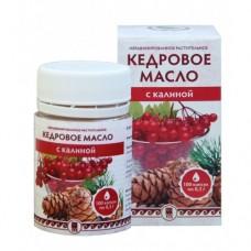 Кедровое масло с калиной (с витамином Е)  для замедления процесса старения