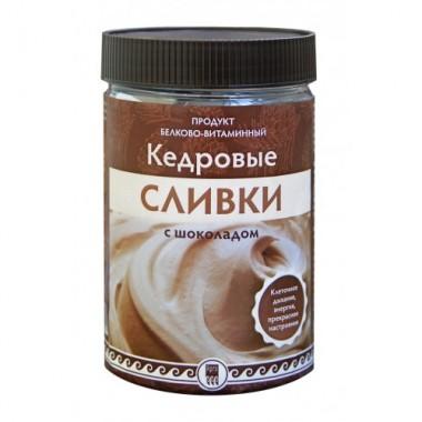 Кедровые сливки с шоколадом, продукт белково-витаминный описание, отзывы