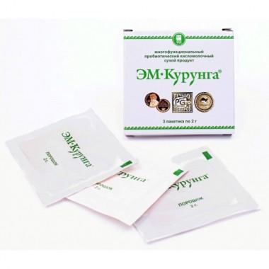 ЭМ-Курунга для оздоровления кишечной микрофлоры описание, отзывы