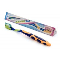 ДентаЭМ зубная щетка 3 в 1 для чистки, массажа и профилактики заболеваний ротовой полости