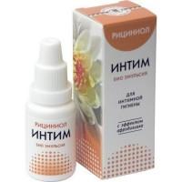 «Рициниол Интим» для интимной гигиены с эффектом афродизиака