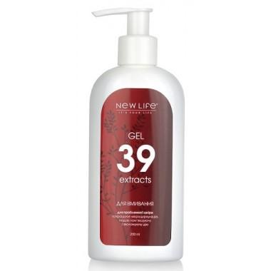 Гель для умывания для проблемной  кожи «39 экстрактов» описание, отзывы