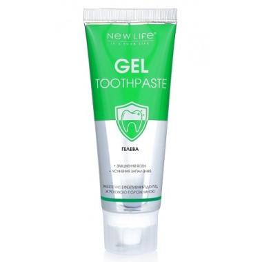 Зубная паста Гелевая (НОВАЯ) описание, отзывы