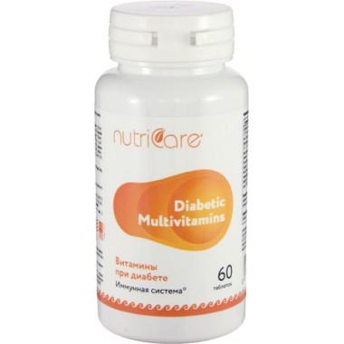 Витамины при диабете (Diabetic Multivitamins)  описание, отзывы
