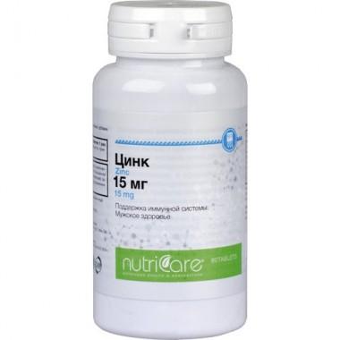 Цинк 15 мг (Zinc)  описание, отзывы
