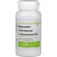 Мультивит с лютеином и ликопином необходимые витамины после 50 лет