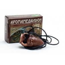 Аромамедальон - керамический кулон для ароматерапии