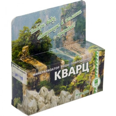 Минерализатор воды природный «Кварц» описание, отзывы
