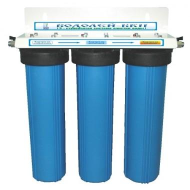 3-х ступенчатый высокопроизводительный фильтр для доочистки питьевой воды «Водолей-БКП» описание, отзывы