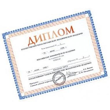 Диплом РЭА (код  9040) описание, отзывы