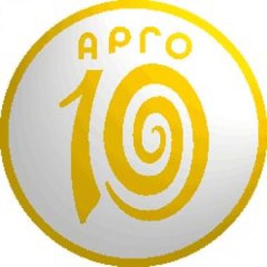 Значок 10 лет АРГО (код  9141) описание, отзывы