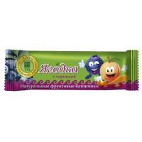Батончик фруктовый «Ягодка» с черникой