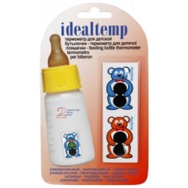 Термометр жидкокристаллический для детской бутылочки (код 3904) описание, отзывы