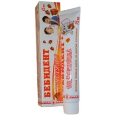 Детская зубная паста «Бебидент вкусняшка» со вкусом клубники