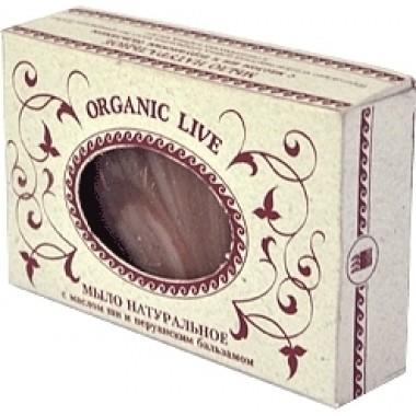 Натуральное мыло «Organic Live», с маслом ши и перуанским бальзамом описание, отзывы