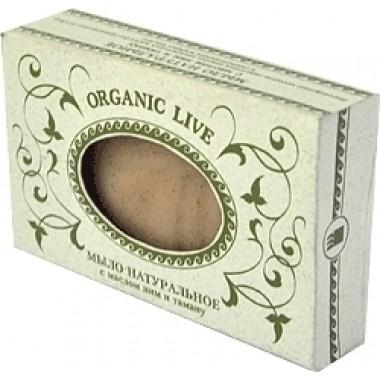 Натуральное мыло «Organic Live», с маслом ним и таману описание, отзывы